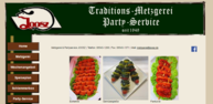 Catering durch Metzgerei Joosz in Aidenbach